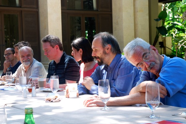 Simons Symposia 2015 - Geometry Over Nonclosed Fields - Photo Credit:  Prof. Olivier Debarre
